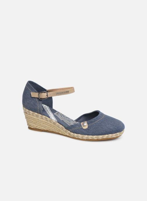Sandales et nu-pieds Dockers Elise Bleu vue détail/paire