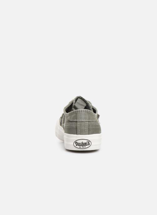 Sneaker Dockers Martine grün ansicht von rechts