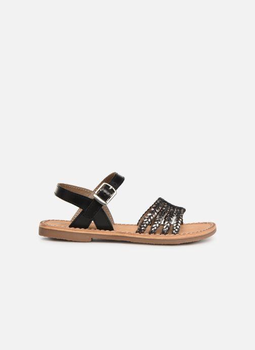 Sandales et nu-pieds L'Atelier Tropézien Joséphine Noir vue derrière