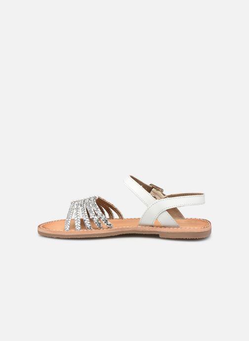 Sandales et nu-pieds L'Atelier Tropézien Joséphine Argent vue face