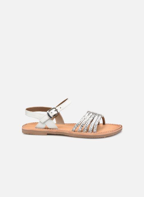 Sandales et nu-pieds L'Atelier Tropézien Joséphine Argent vue derrière
