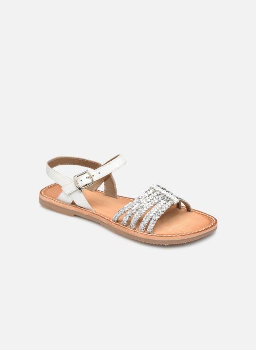 Sandales et nu-pieds L'Atelier Tropézien Joséphine Argent vue détail/paire