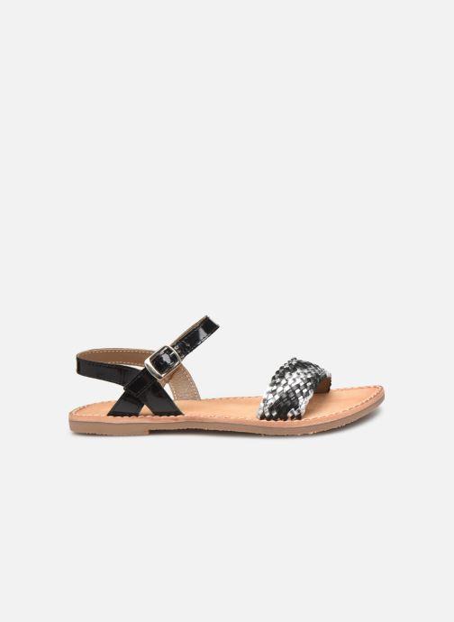 Sandales et nu-pieds L'Atelier Tropézien Philippine Noir vue derrière