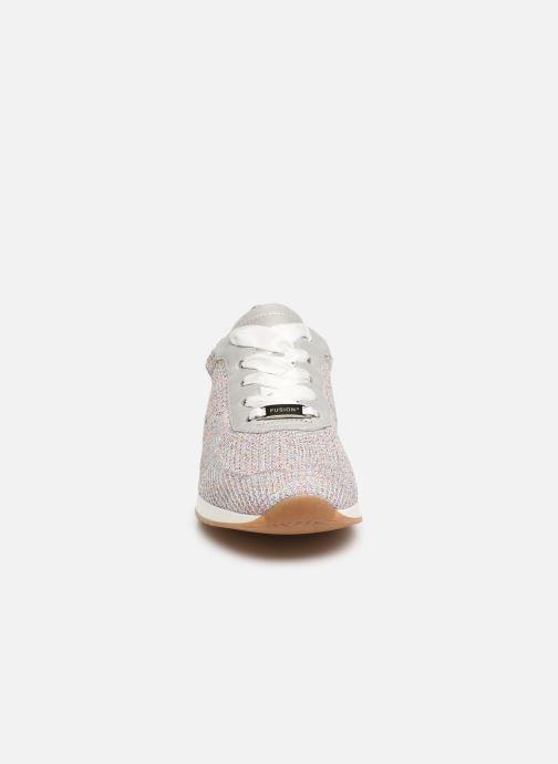 Baskets Ara Fusion 24027 Gris vue portées chaussures