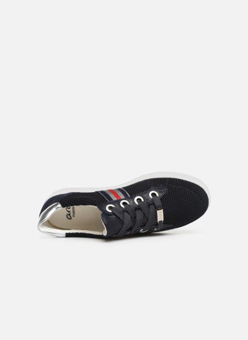 Sneaker Ara New York 14512 blau ansicht von links