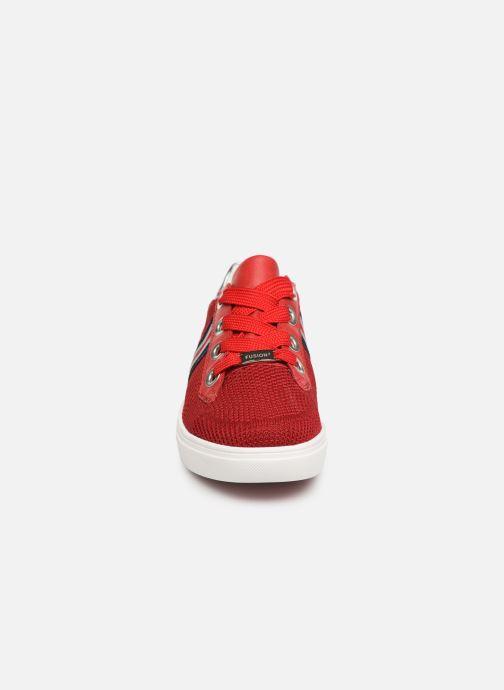 Baskets Ara New York 14512 Rouge vue portées chaussures