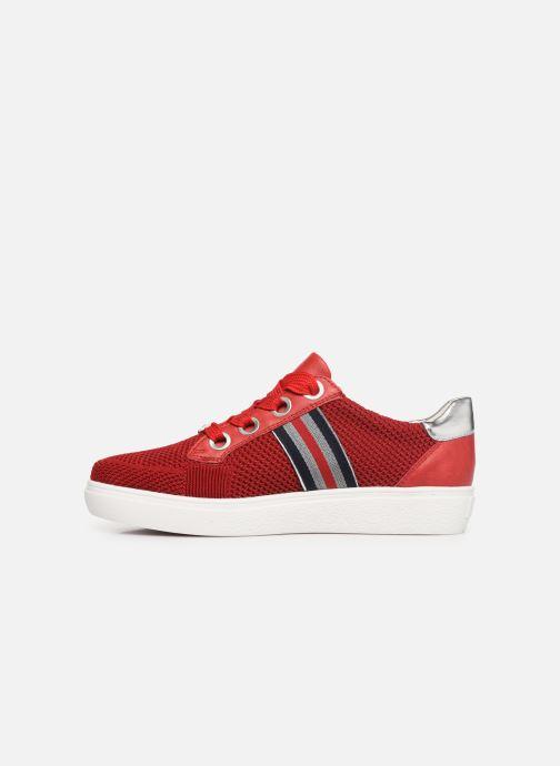 Sneakers Ara New York 14512 Röd bild från framsidan