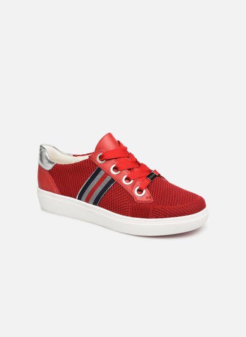 Sneakers Ara New York 14512 Röd detaljerad bild på paret