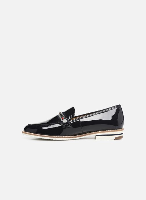 Loafers Ara Key West 31238 Blue front view