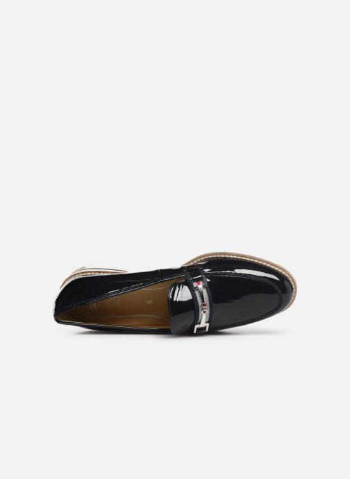 Loafers Ara Key West 31238 Blue view from the left