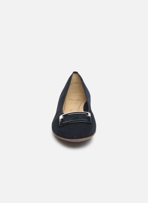 Ballerines Ara Sardinia 31332 Bleu vue portées chaussures