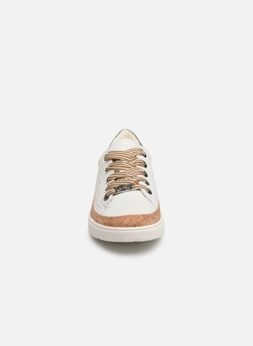 Baskets Ara Rom 14418 Blanc vue portées chaussures