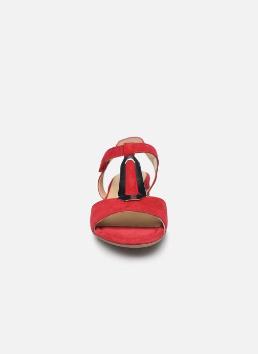 Sandales et nu-pieds Ara Vegas 16839 Rouge vue portées chaussures