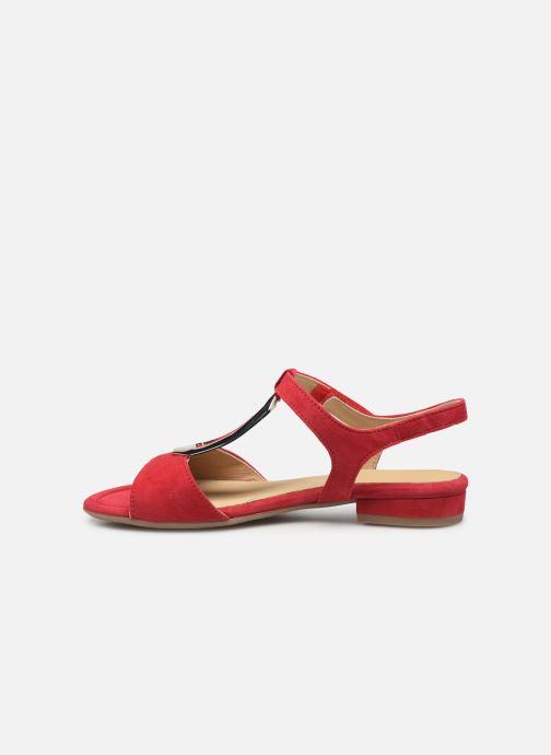 Sandales et nu-pieds Ara Vegas 16839 Rouge vue face