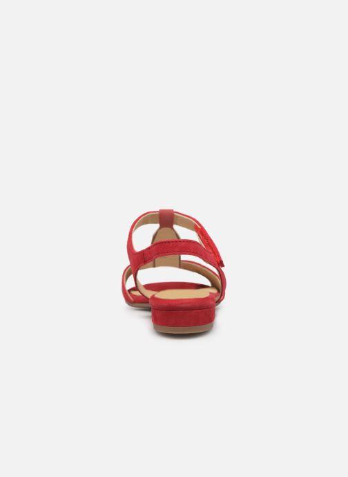Sandales et nu-pieds Ara Vegas 16839 Rouge vue droite