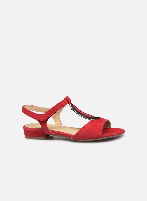 Sandales et nu-pieds Ara Vegas 16839 Rouge vue derrière