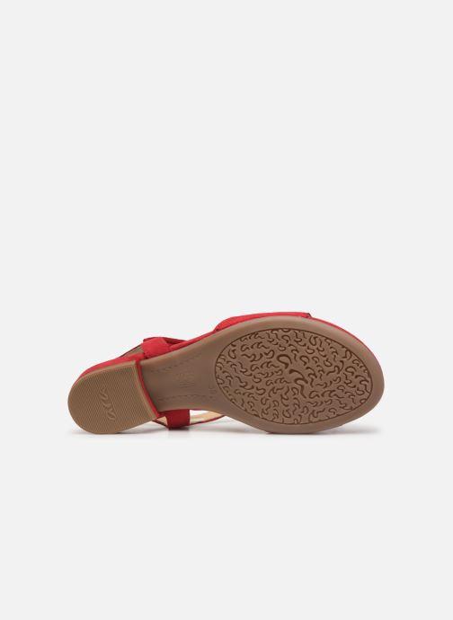 Sandales et nu-pieds Ara Vegas 16839 Rouge vue haut
