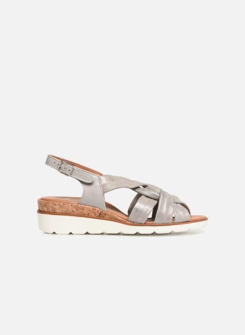 Sandales et nu-pieds Ara Lugano 35701 Gris vue derrière