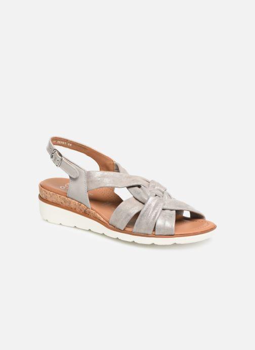 Sandales et nu-pieds Ara Lugano 35701 Gris vue détail/paire