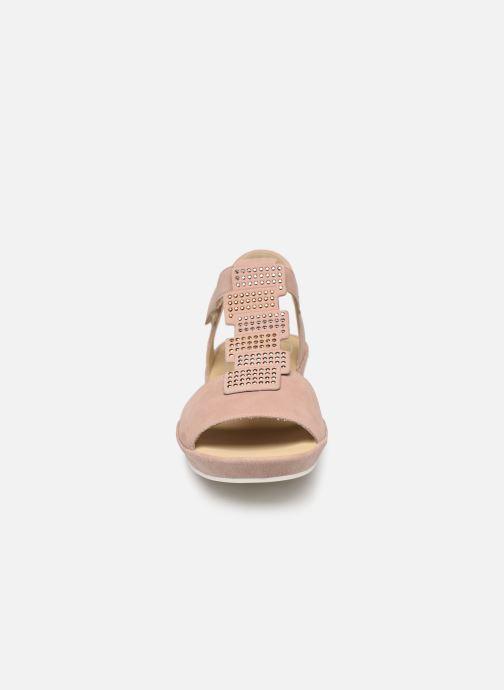 Sandales et nu-pieds Ara Capri 28003 Rose vue portées chaussures