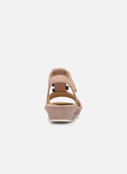 Sandales et nu-pieds Ara Capri 28003 Rose vue droite
