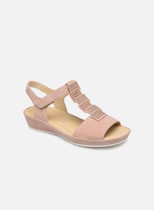 Sandaler Ara Capri 28003 Pink detaljeret billede af skoene