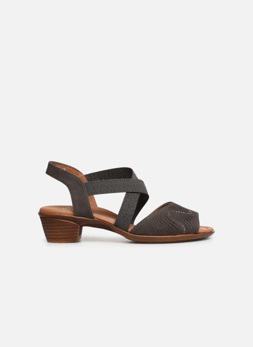 Sandales et nu-pieds Ara Lugano 35764 Gris vue derrière