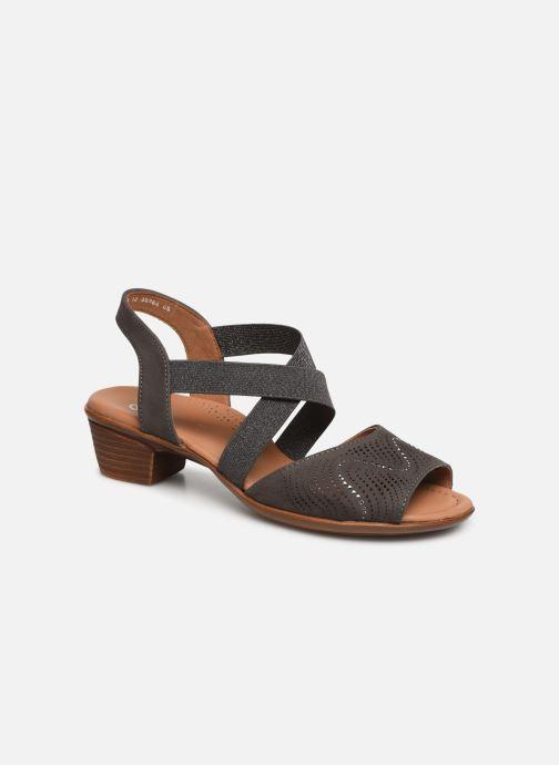 Sandales et nu-pieds Ara Lugano 35764 Gris vue détail/paire