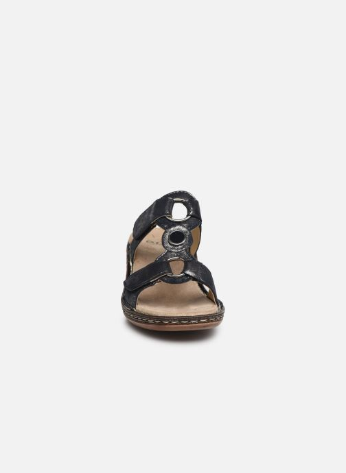 Mules et sabots Ara Key West 37220 Bleu vue portées chaussures