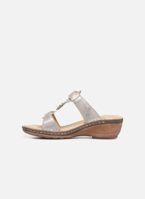 Mules & clogs Ara Key West 37220 Grey front view