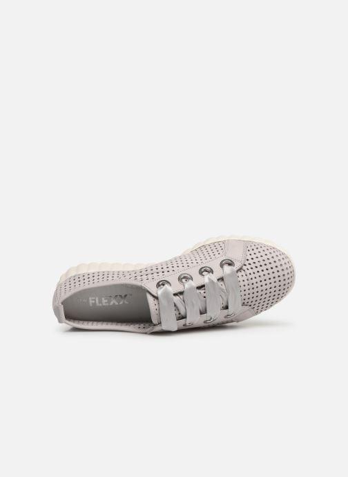 Sneaker The Flexx Fly Lace grau ansicht von links
