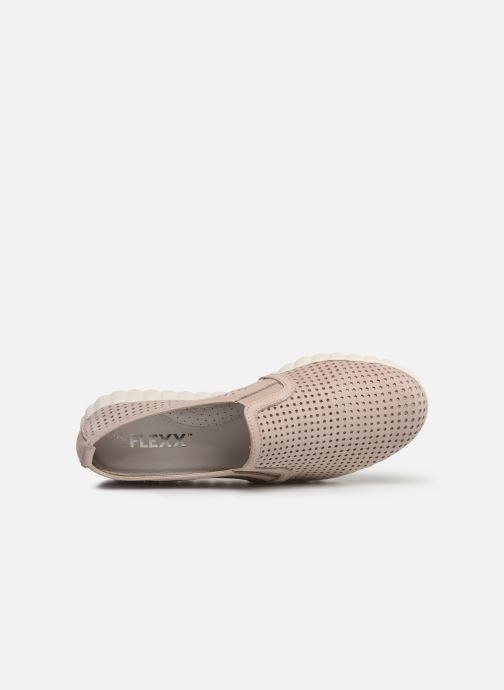 Baskets The Flexx Overfly Rose vue gauche