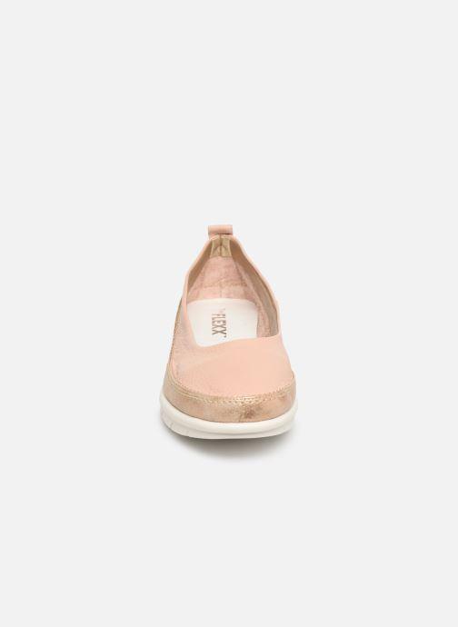 Ballerines The Flexx Magnus Rose vue portées chaussures