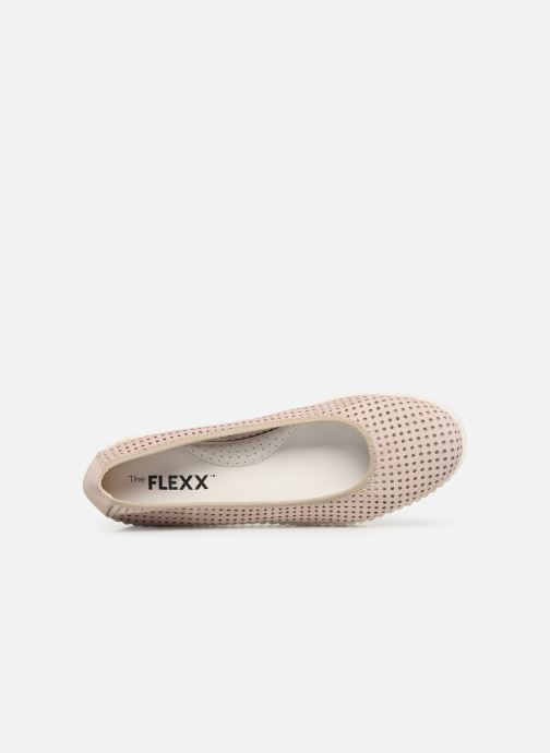 Ballerines The Flexx New Mel a Drama Rose vue gauche