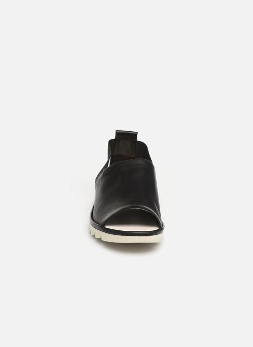 Sandales et nu-pieds The Flexx Wat is Wav Noir vue portées chaussures