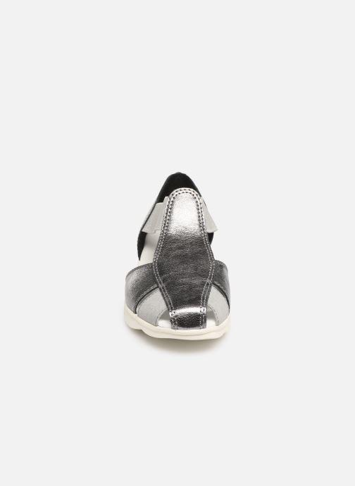 Sandali e scarpe aperte The Flexx Mr Band Grigio modello indossato