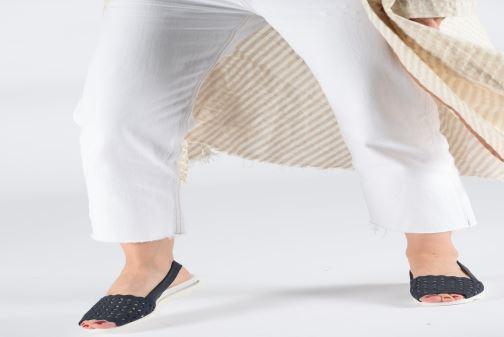 Sandales et nu-pieds The Flexx Easy Band Bleu vue bas / vue portée sac