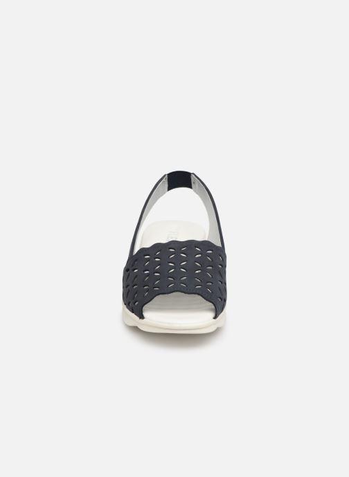 Sandales et nu-pieds The Flexx Easy Band Bleu vue portées chaussures