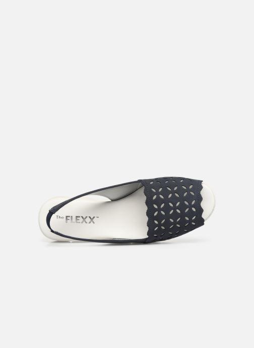 Sandales et nu-pieds The Flexx Easy Band Bleu vue gauche