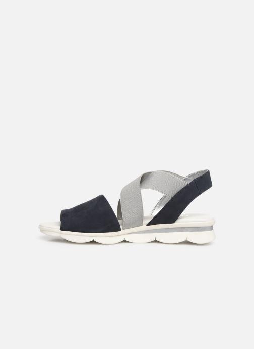 Sandals The Flexx Banjoe Blue front view