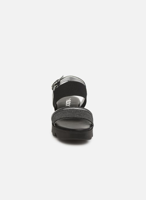 Sandales et nu-pieds The Flexx Mellony Noir vue portées chaussures