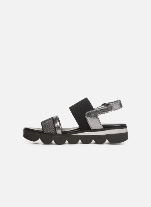 Sandals The Flexx Mellony Black front view