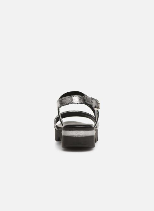 Sandales et nu-pieds The Flexx Mellony Noir vue droite