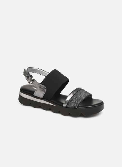 Sandals The Flexx Mellony Black detailed view/ Pair view