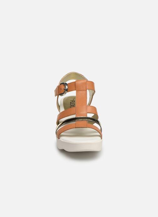 Sandali e scarpe aperte The Flexx Cinstrap Marrone modello indossato