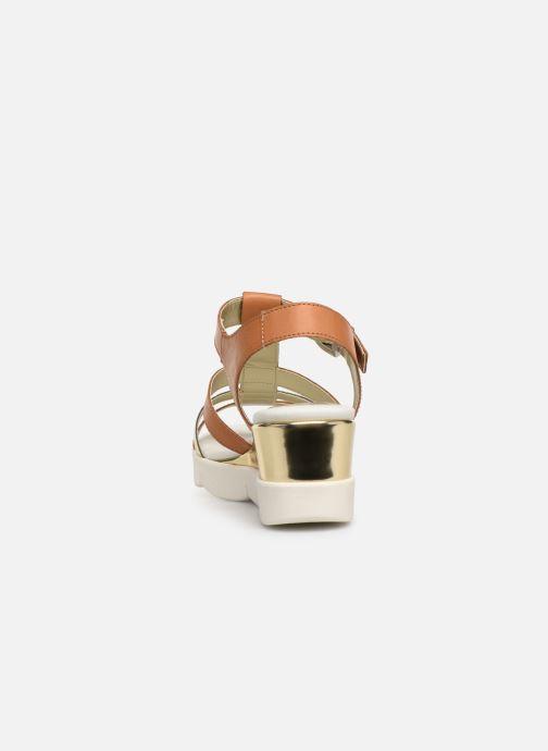 Sandali e scarpe aperte The Flexx Cinstrap Marrone immagine destra