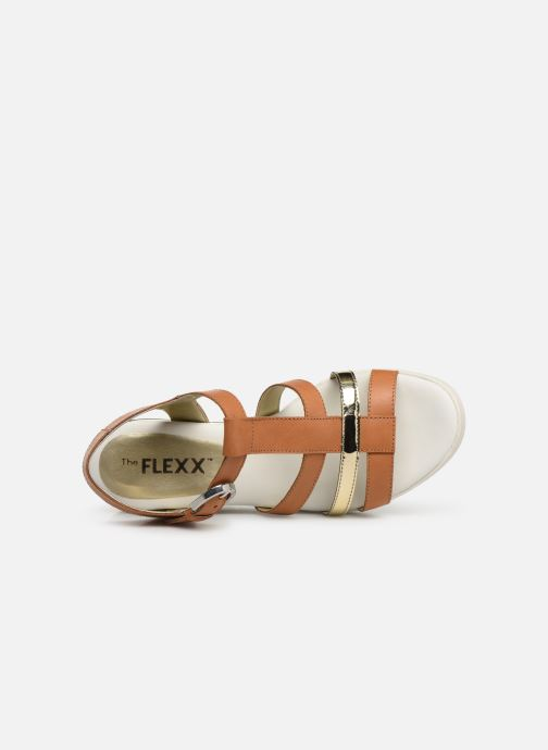 Sandals The Flexx Cinstrap Brown view from the left