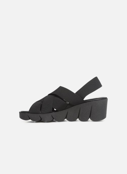 Sandals The Flexx Slingastic Black front view