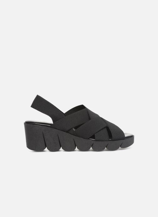 Sandals The Flexx Slingastic Black back view
