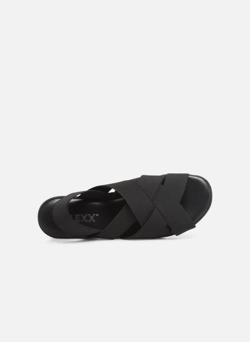 Sandales et nu-pieds The Flexx Slingastic Noir vue gauche